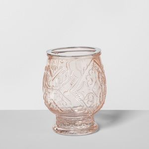 Target Opalhouse Baby Pink Glass Toothbrush Holder